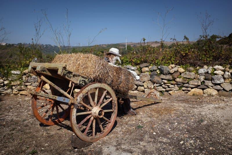 Chariot rural image stock