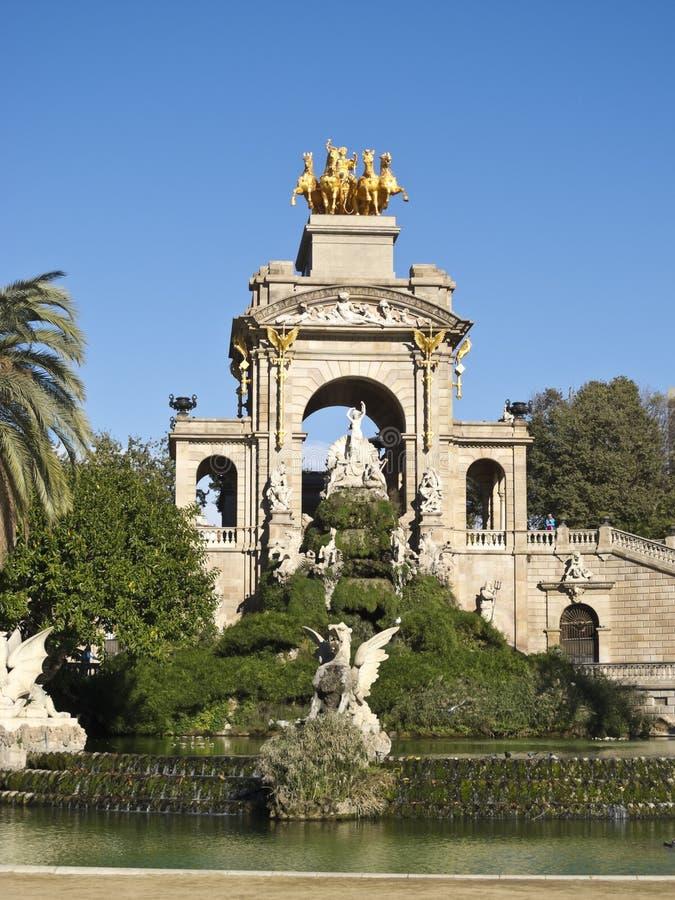 Chariot von Ciutadella. Barcelona lizenzfreies stockbild