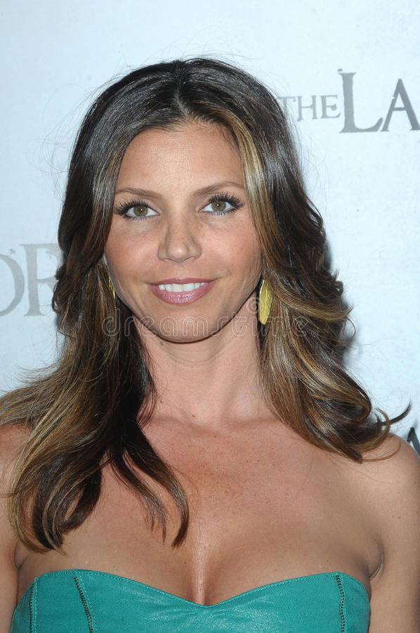 Charisma Carpenter foto de stock