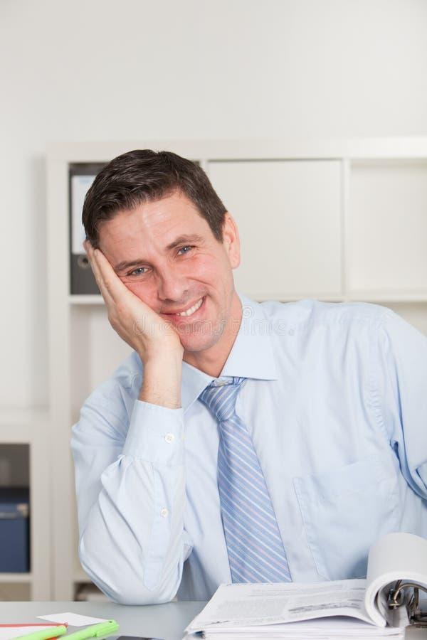 Charismatic businessman stock photos