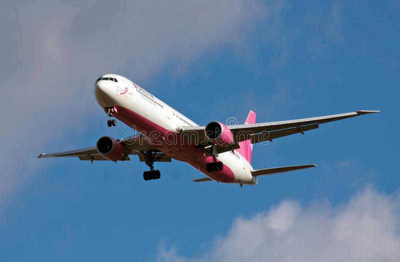 Download Charitable airline landing editorial stock photo. Image of civil - 23501563
