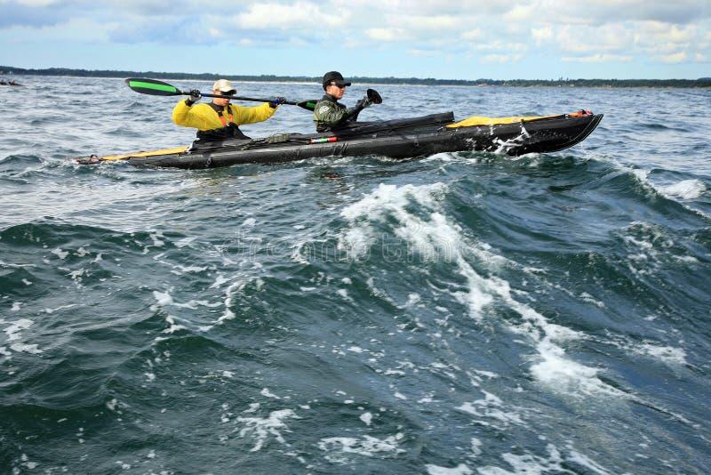 Download Charity Canoe Trip - Bornholm Editorial Stock Photo - Image: 26837788