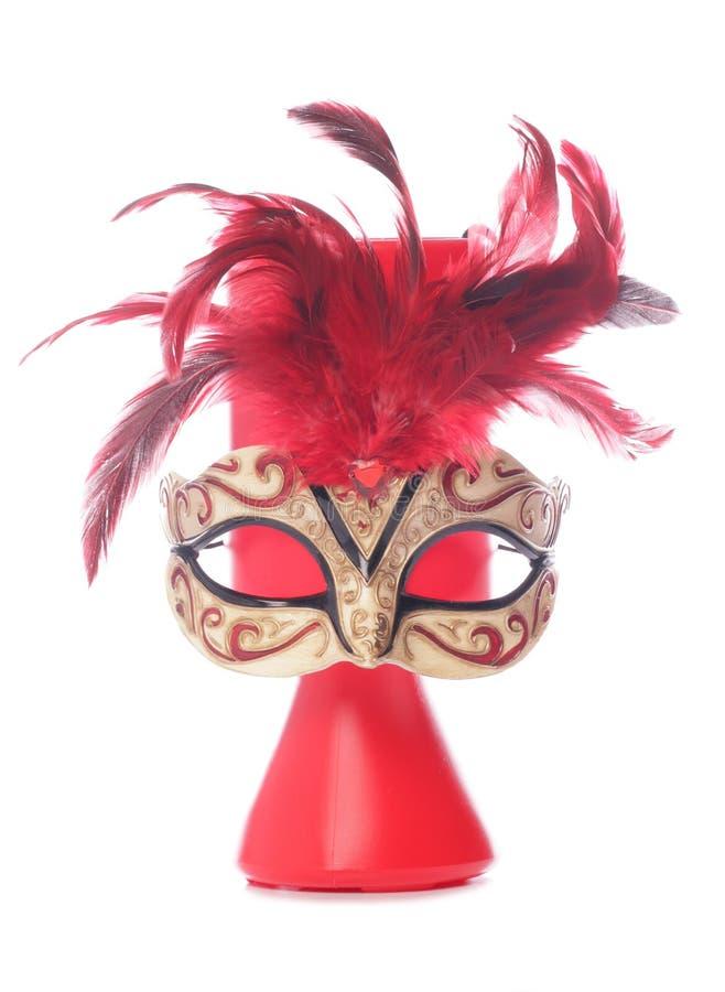 Charity Donation And Masquerade Mask Royalty Free Stock Image