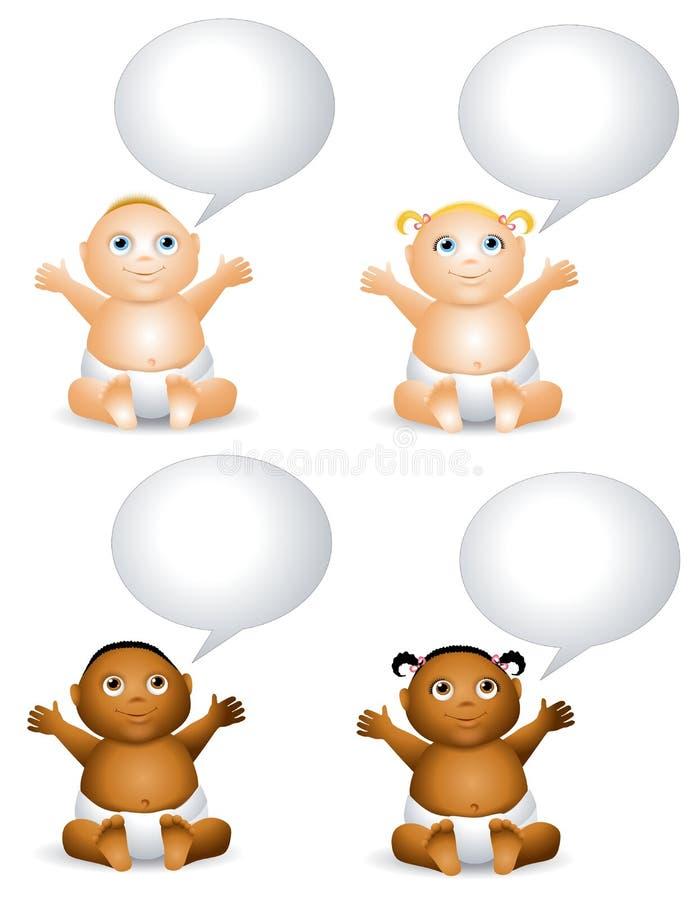 Charla de bebé libre illustration