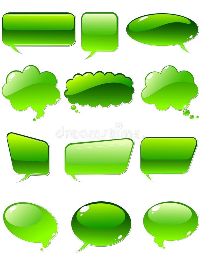 Charla verde libre illustration