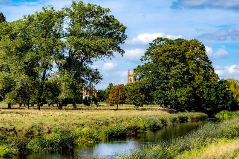 Charlecote manor park England neat stratford upon avon fotografia royalty free