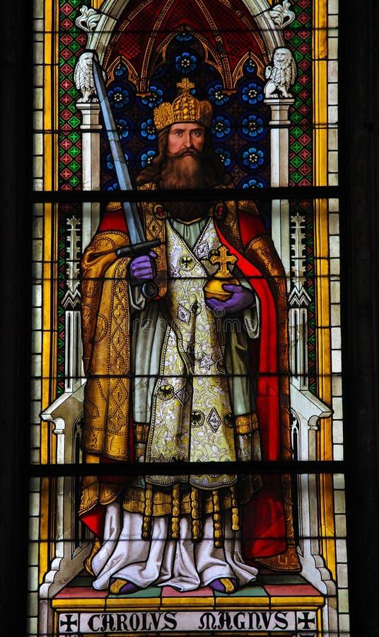 Charlemagne fotografía de archivo libre de regalías