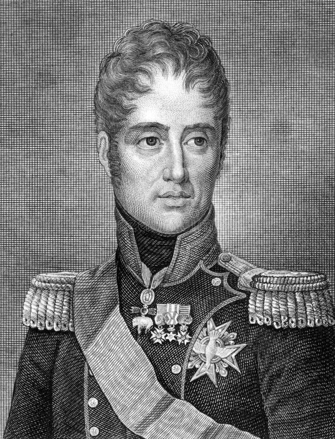 Charles X av Frankrike arkivbilder