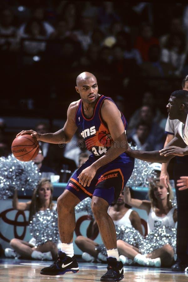 Charles Barkley Phoenix Suns image stock
