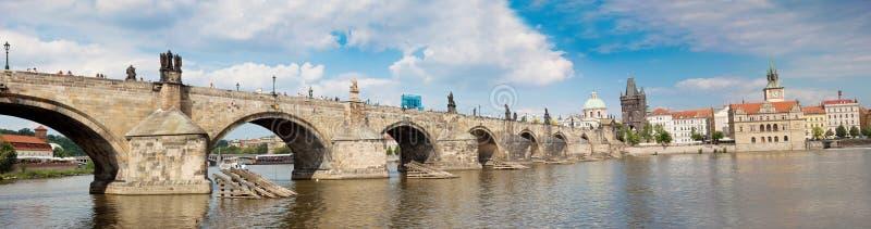 charles bridżowy karlov Prague zdjęcia royalty free