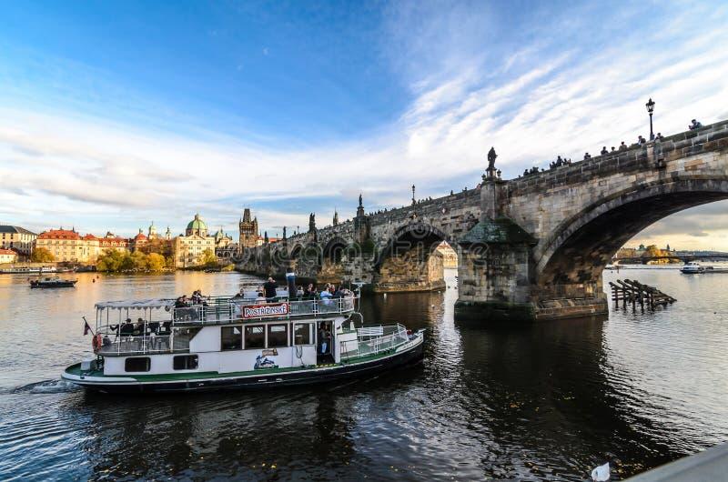 Charles Bridge fotografie stock
