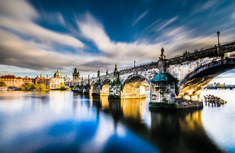 Charles Bridge fotografia stock libera da diritti