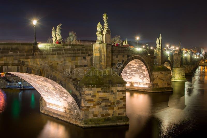 Charles Bridge lizenzfreie stockfotos