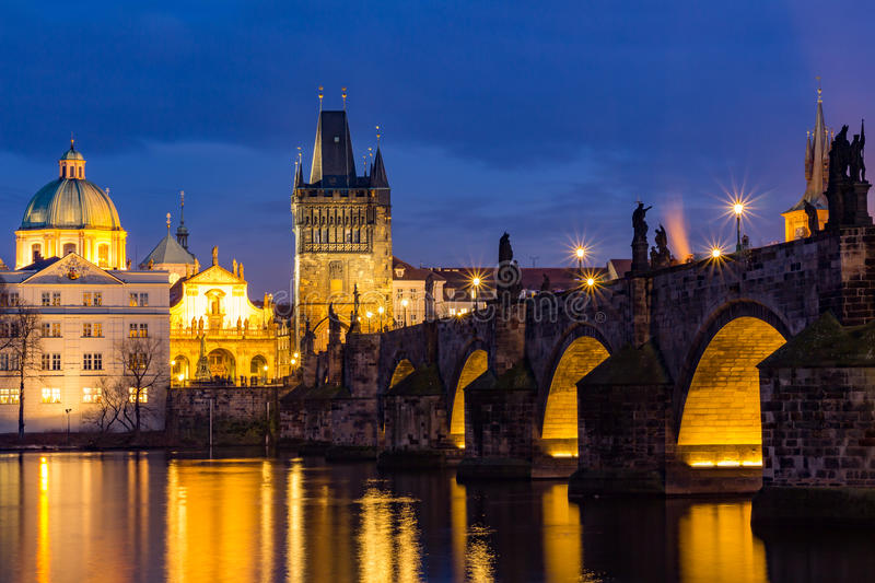 The Charles Bridge (Czech: Karluv Most) is a famous historic bridge in Prague, Czech Republic. The Charles Bridge (Czech: Karluv Most) is a famous historic stock image