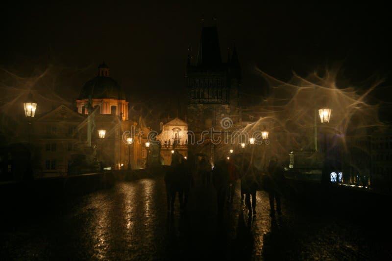 Charles Bridge em Praga fotografia de stock royalty free