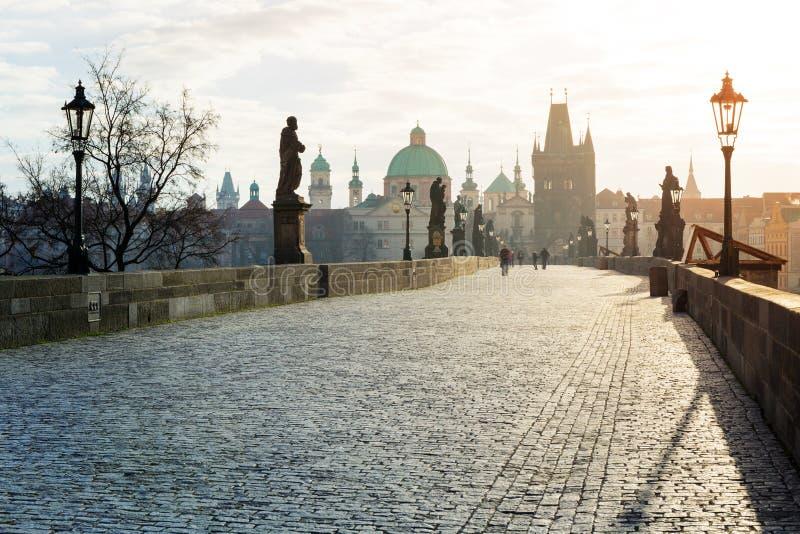 Charles Bridge, Praga fotografía de archivo libre de regalías