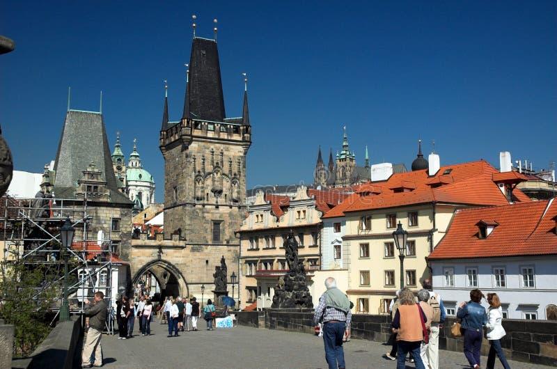 Charles Bridge, Prague Editorial Image