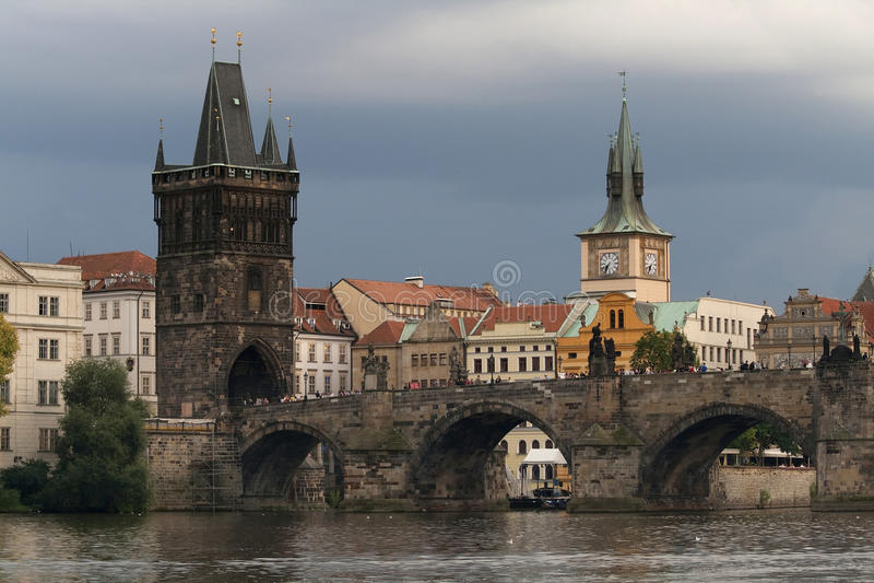 Download Charles Bridge in Prague stock image. Image of city, urban - 20798813