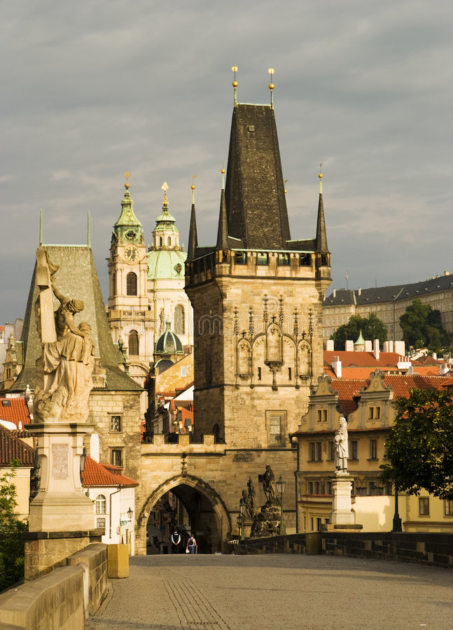 Download Charles Bridge, Prague stock image. Image of stone, tourism - 2812719