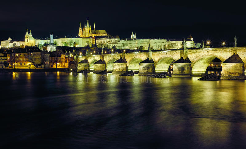 Charles bridge, Prague, Czech Republic stock photography