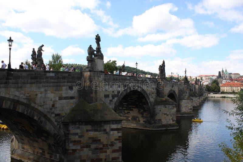 Charles Bridge in Prague ,Czech Republic royalty free stock photos
