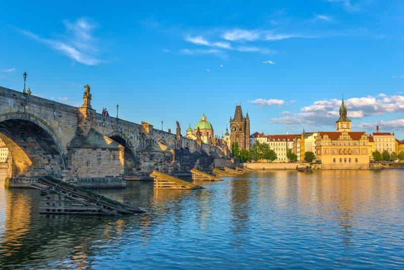 Charles-brug - Praag - Tsjechische republiek royalty-vrije stock fotografie