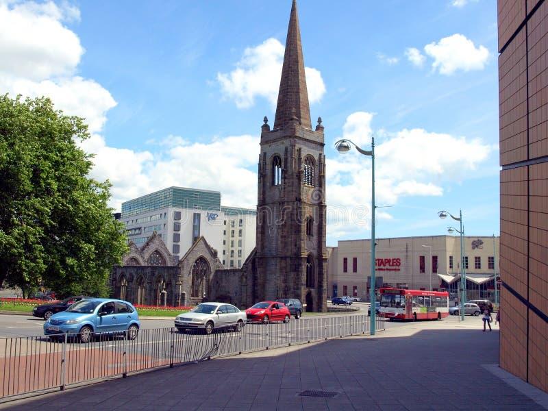 Charles Church, Plymouth, Devon. lizenzfreie stockbilder