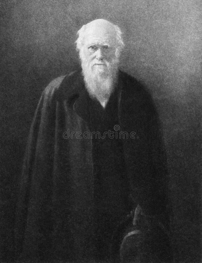 Charles Darwin royalty free stock photo