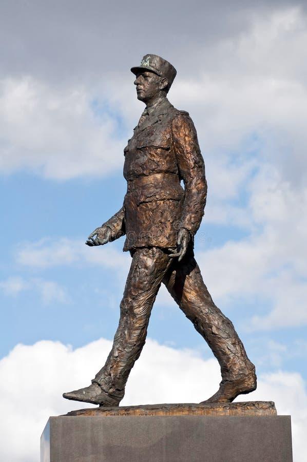 Charles de Gaulle image stock