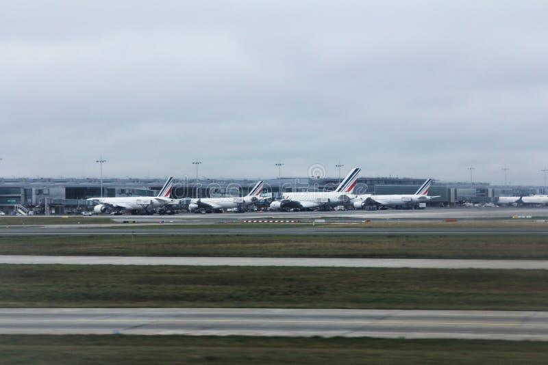 Charles de Gaulle Airport, Paris image libre de droits