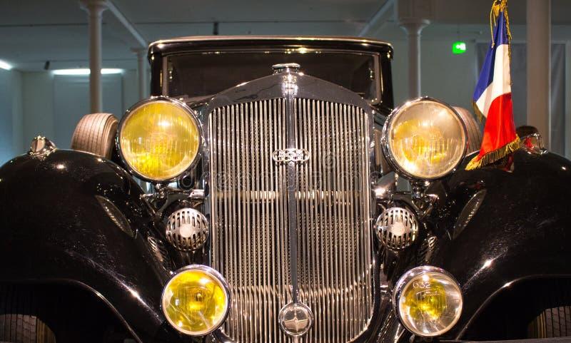 Charles de Gaulle Audi Cabrio (Gestalt 1936) lizenzfreie stockfotos