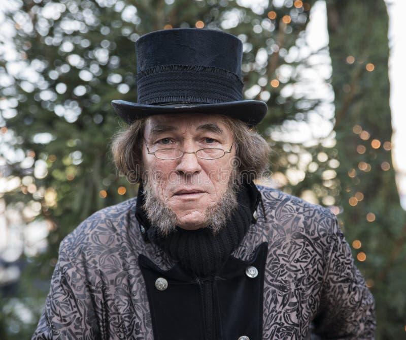 Charles Dickens 免版税库存图片