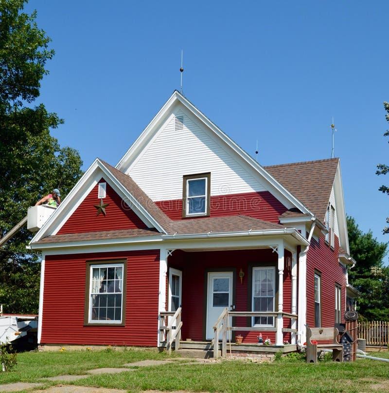 Charles Emmor McCormick dom zdjęcie royalty free