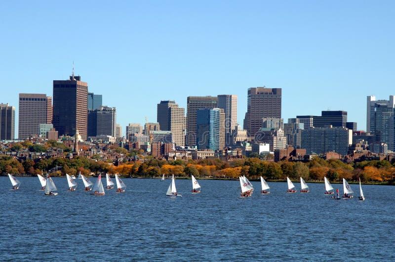Charles-Fluss Boston stockfotografie