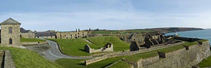 Charles-Fort Kinsale stockbild