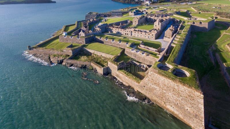 Charles Fort Kinsale Cortiça do condado ireland imagem de stock royalty free