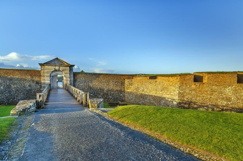 Charles Fort, Kinsale, Irlanda fotografia stock
