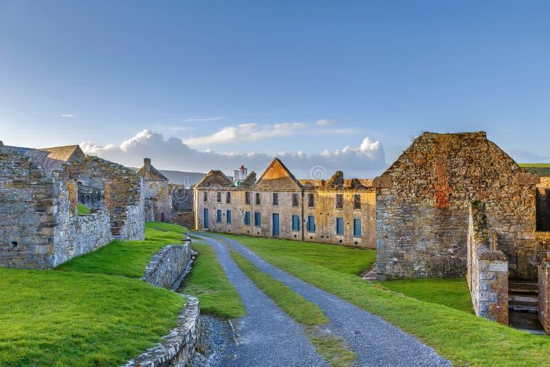 Charles Fort, Kinsale, Irlanda immagine stock