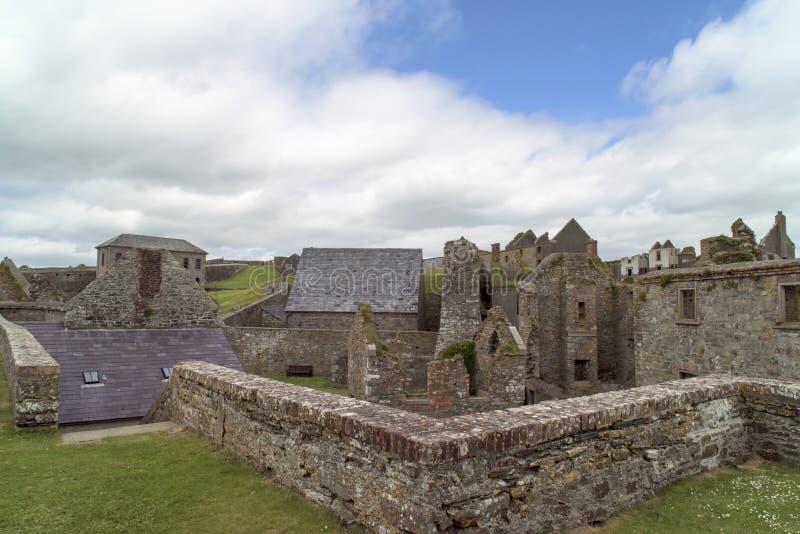 Charles Fort, Kinsale, Irlandia zdjęcie stock