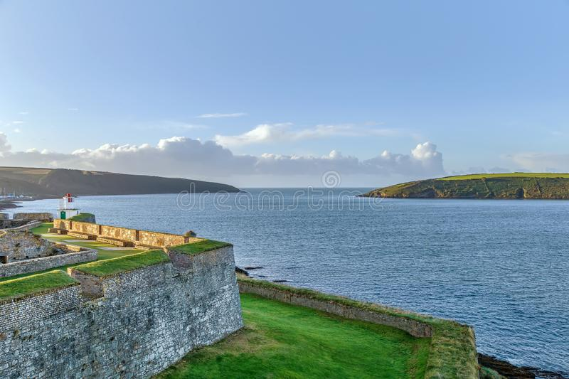 Charles Fort, Kinsale, Irlandia obrazy royalty free