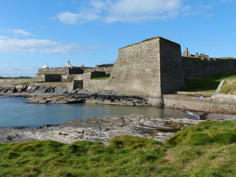 Charles Fort Kinsale West Cork Ireland royalty free stock photo