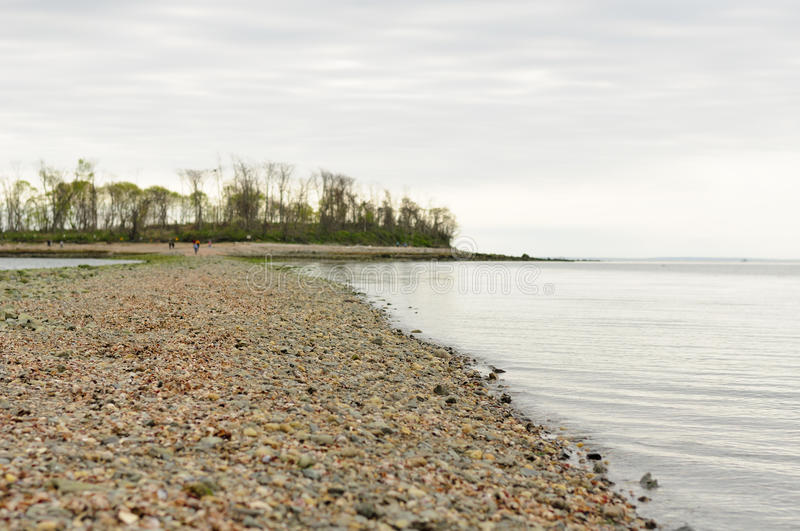 Charles Island Milford Connecticut stockbilder