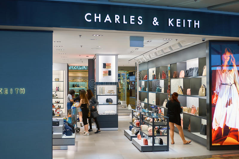 Charles & Keith store royalty free stock photos