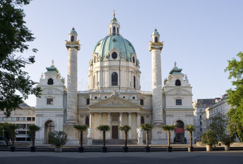 charles kościoła Vienna fotografia stock