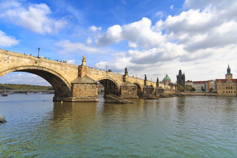 Charles most, Praga obrazy stock