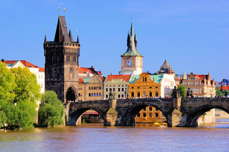 Charles most, Praga zdjęcia stock