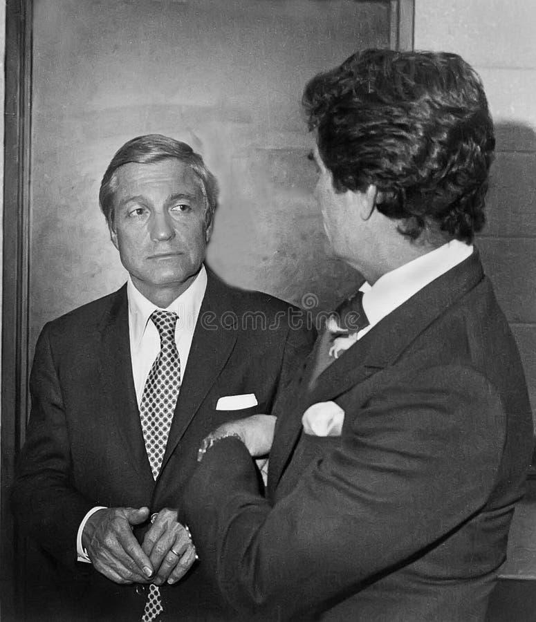 Charles Percy och Hugh nolla 'Brian arkivbild