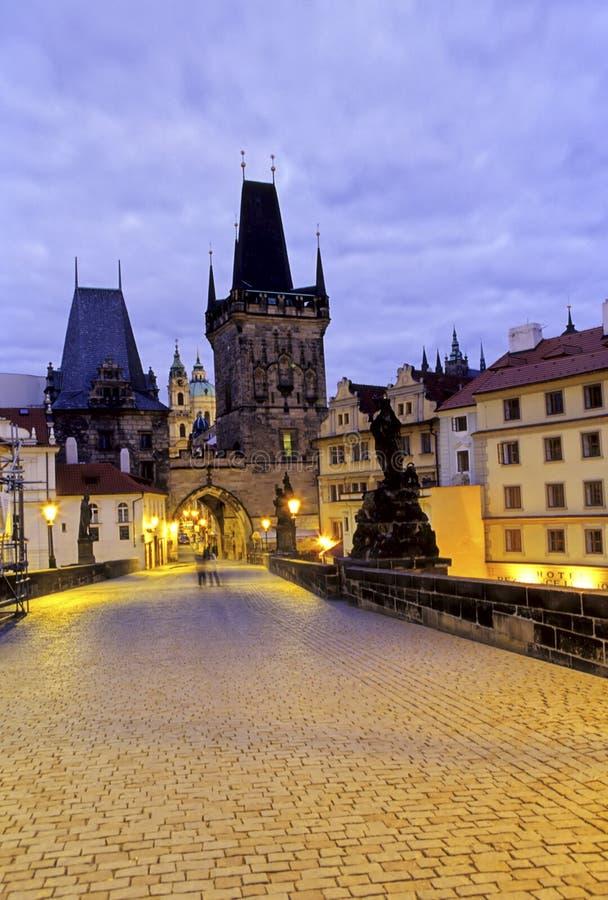 Charles Prague mostu zdjęcie royalty free