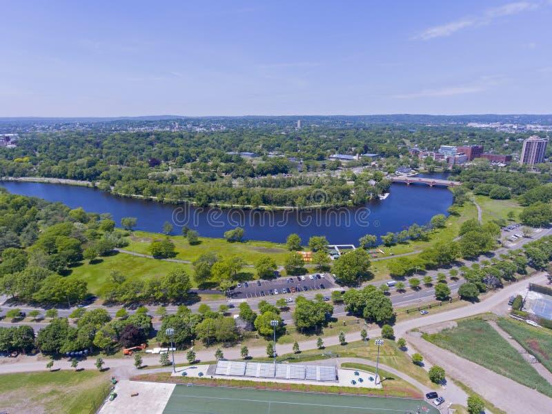 Charles River, Boston, le Massachusetts, Etats-Unis image libre de droits