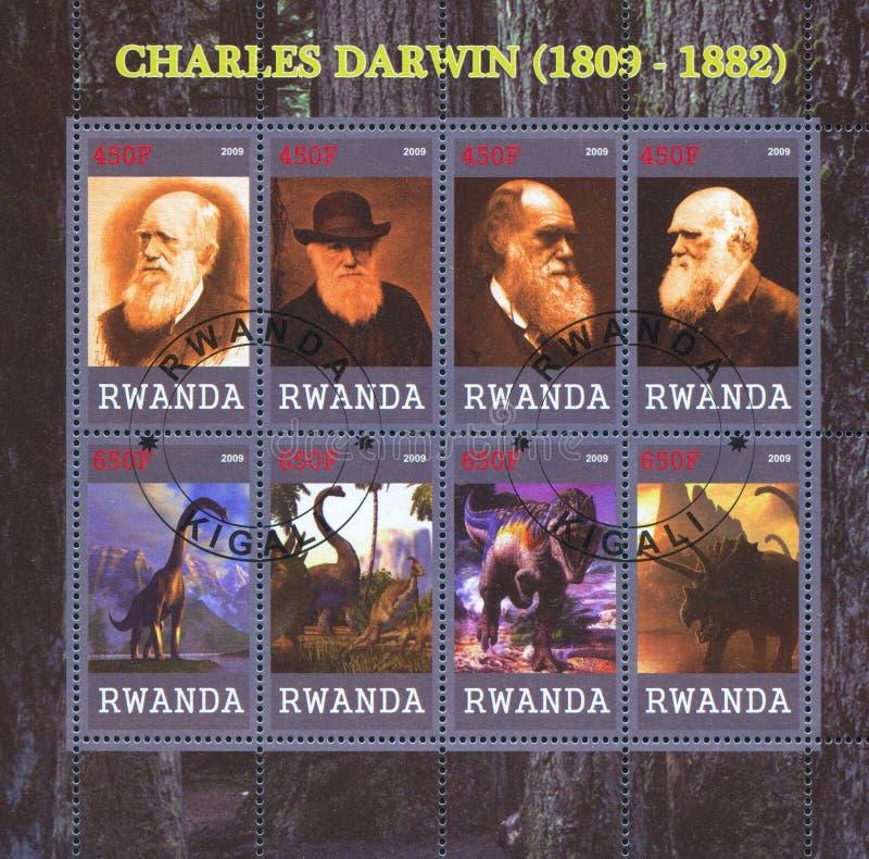 Charles Robert Δαρβίνος στοκ εικόνα